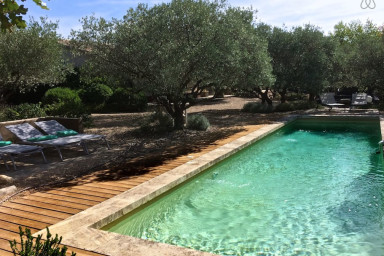 #VillaChic, 8 personnes, piscine chauffée, air conditionné, 10 mm Lourmarin