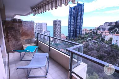 Superbe appartement aux portes de Monaco avec vue mer et terrasse