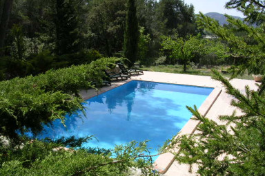 La Salamandre, villa de 4 chambres, piscine 2 hectares de terrain.