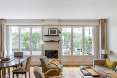 Appartement avec terrasse au coeur de Boulogne - W352