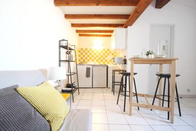 Charmant studio mezzanine au coeur de Montpellier - W371