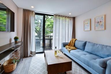 Moderno apartamento con jacuzzi