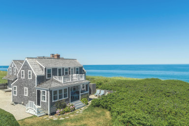 Seashell: Oceanfront Cottage in Quidnet