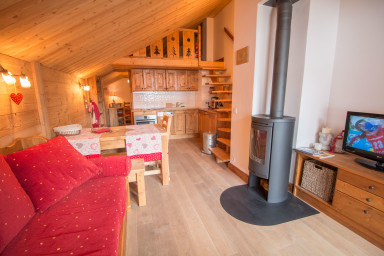 Meribel Centre, Bel appartement 4 pers !