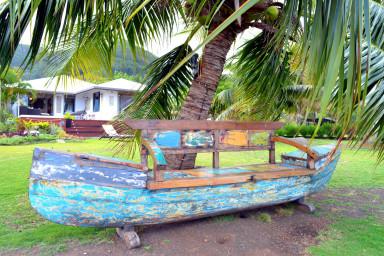 Maison Te Miti - Tahiti - Mataiea - bord de plage,  jacuzzi, WiFi - 7 pers