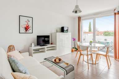 Gorgeous 1br close to Montpellier and its beaches
