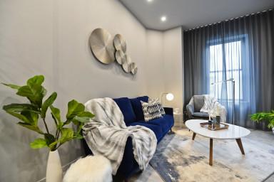 2 bedrooms loft for rent Ville-Marie district