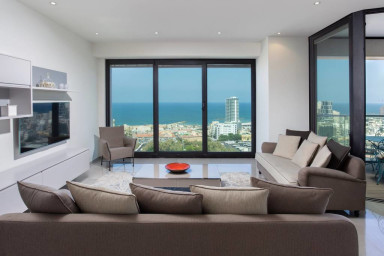 White City by HolyGuest - Outstanding 2Bed/2 Bath with stunning Sea View
