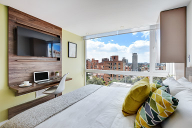 Urban Heights 304 - Trendy Units in Exciting Chapinero Alto