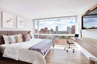 Urban Heights 305 - Trendy Studios in Exciting Chapinero Alto