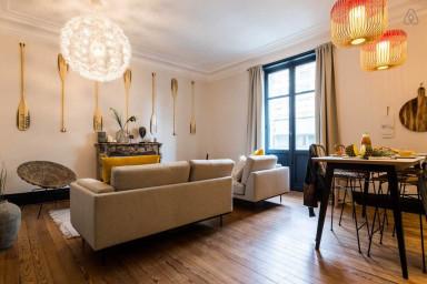 Appartement de Style Bohème, Centre-Ville Bayonne