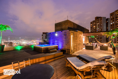 Tramonte 1101 Poblado Serene Penthouse with Jacuzzi