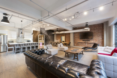 Corporate Event Venue | 4 Bedroom Loft at the Holland Hotel Montreal