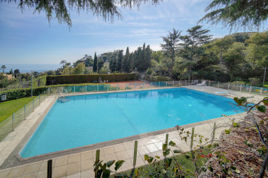 IMMOGROOM-Piscine - Tennis - Terrasse avec vue mer - Parking CONGRES/PLAGES