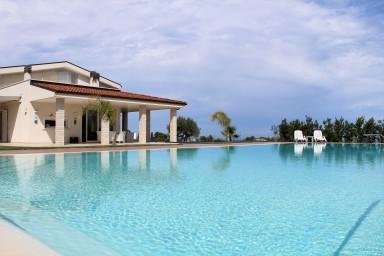 Villa Maria con piscina esclusiva e vista mare