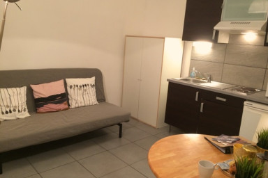 « Louise »: Studio of 20sq. m, close to the center