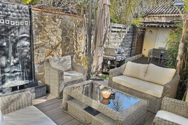 Superbe 3 pièces avec jardin dans le vieil Antibes
