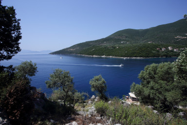 Vila Aeraki - acces la mare, priveliște privată și barca de pescuit