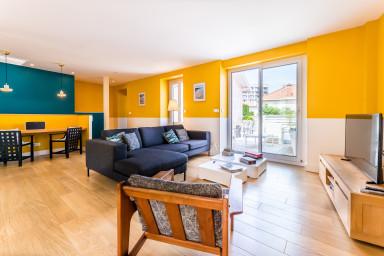 Keyweek Appartement en Duplex avec Terrasse, Aperçu mer à Biarritz