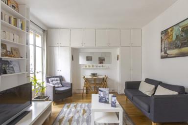 Lumineux appartement dans Paris