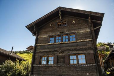 Ravissante maison villageoise à Nax