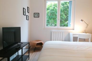 Luxe et calme,écran géant et 1 TV/chambre.Ascenseur✨Proche gare #M4