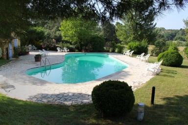 A small paradise in Provence with pool, La Feniere