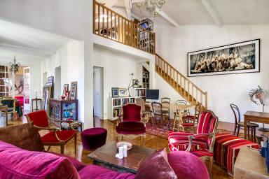Belle et élégante villa au 19ème siècle près du Parc des Buttes Chaumont