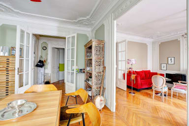 Spacious Typical Parisian Flat