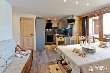 (G11) Amazing SKI-IN SKI-OUT! High Quality Flat with Stunning Views