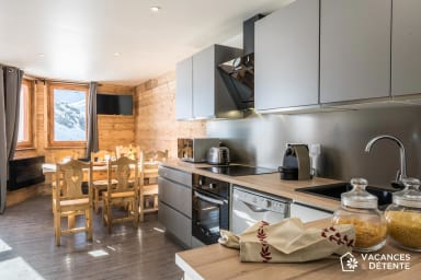 (C8) Amazing SKIIN/SKIOUT, Fantastic View, Cosy and Direct Slope Access