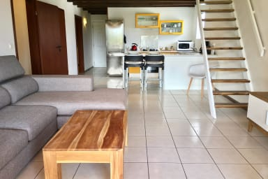 Appartement Anani - Punaauia- Tahiti - 2 ch, piscine et accès mer - 5 pers