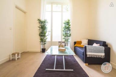 Appartement climatisé, moderne et zen en plein cœur de Nice