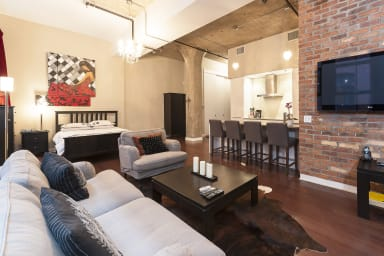 Loft studio rental in Montreal