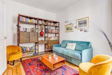Family apartment La Villette sleeps 7