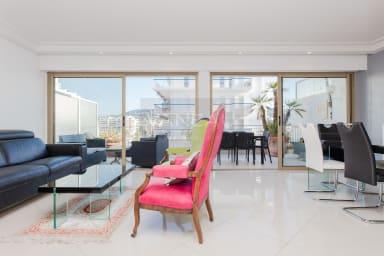 VANEAU ☀️ Agréable 3P sur la Croisette, spacieuse terrasse