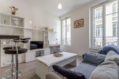 Appartement de charme 4**** au coeur de Marseille - W407