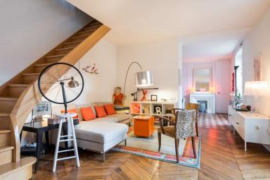 L'Orange - Maison de ville chaleureuse
