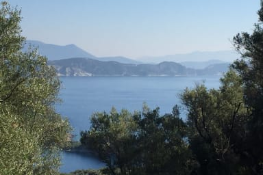 Land with Construction Permit in Sivota Bay