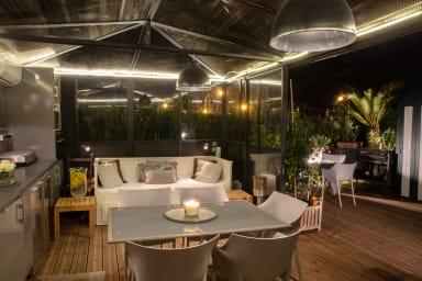 Superbe penthouse dans le centre de Cannes