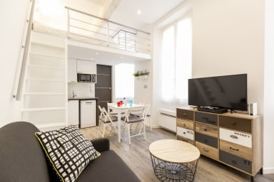 BNB RENTING Chez Thibault - Studio rénové 2-4pers Centre Antibes Fersen