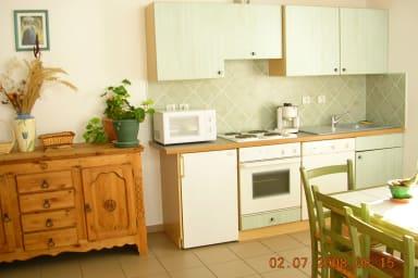 Duplex en rez de jardin - Brigitte Pic
