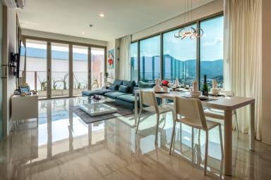 Потрясающая квартира с видом на море @Камала - 600 м