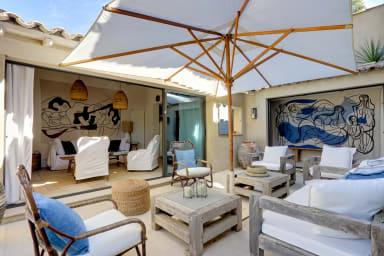 Villa Leina / Superbe Bastidon à deux pas des plages de Ramatuelle