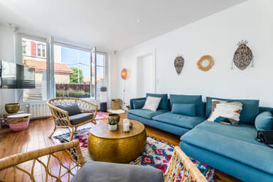 ALOE • KEYWEEK Apt d'architecte à Biarritz avec terrasse et garage privé