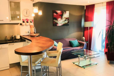 Comfortable 2 bedroom apartment in the centre of Cannes