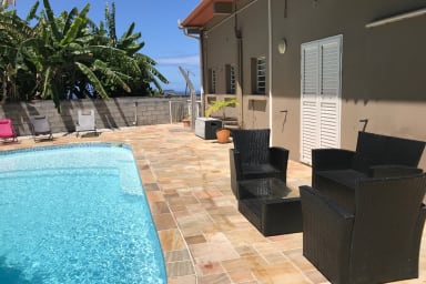 Bel appartement dans résidence, Ile de la Réunion