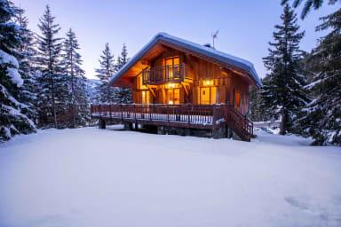 Confort, chaleureux chalet 8-10 pers, Altitude 1600 !