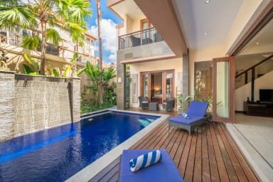 Cozy 3BR Pool Villa in - Seminyak Central!