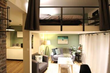 🏡 Cocon avec Terrasse privée ⚡ 30m² - 2pers.